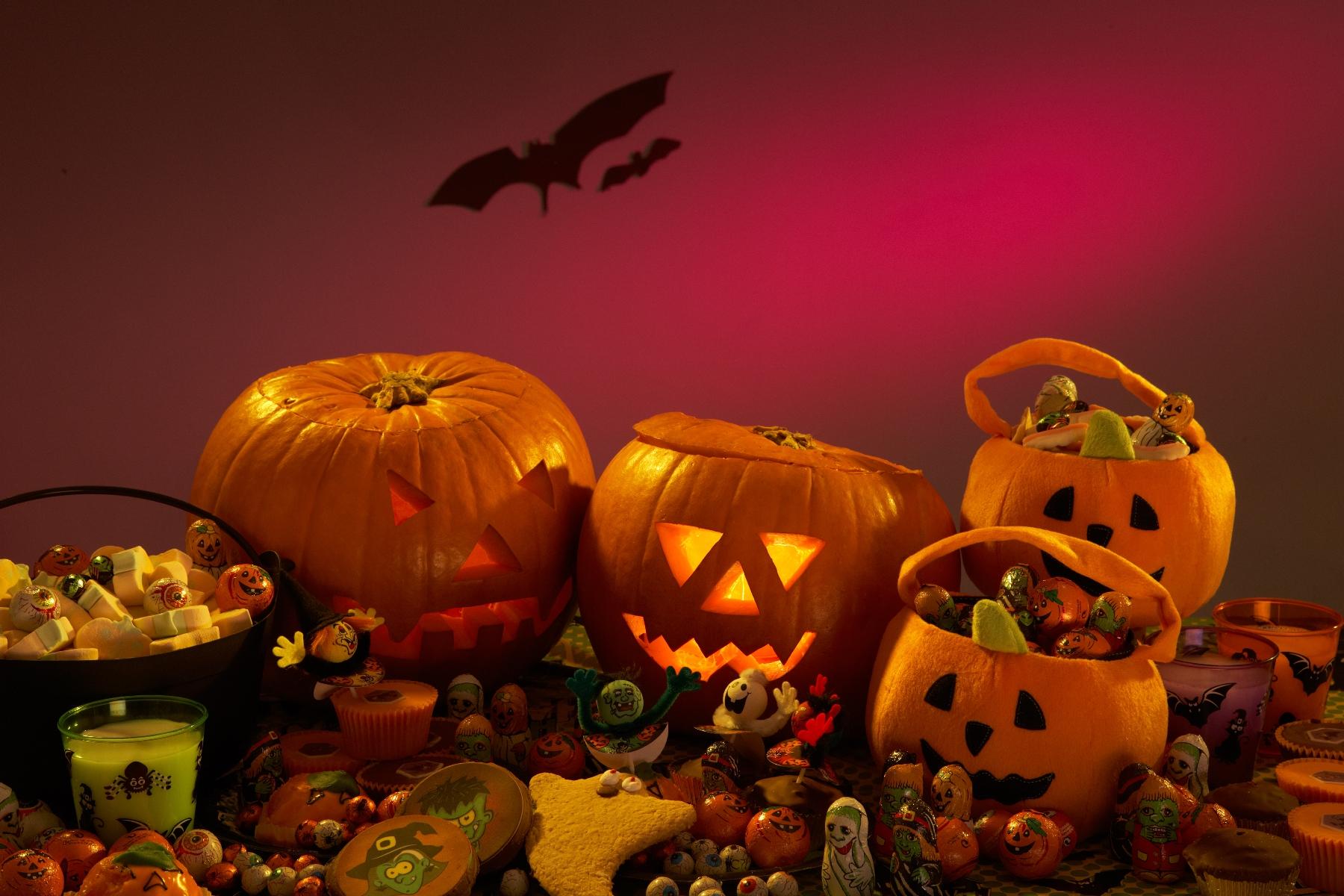 Helovīnu atmosfēra