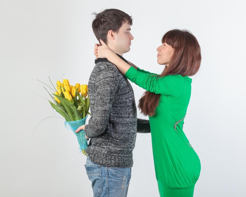 Ziedi sieviešu dienā